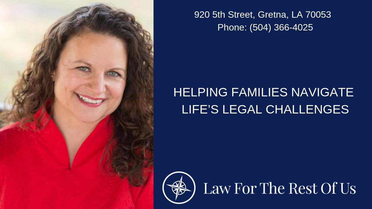 Divorce and Mediation Lawyer | Gretna La | Sarah Pfeiffer